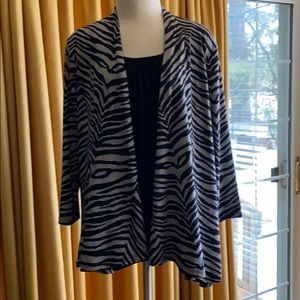 Pretty Jacket Too with attached Shell Top